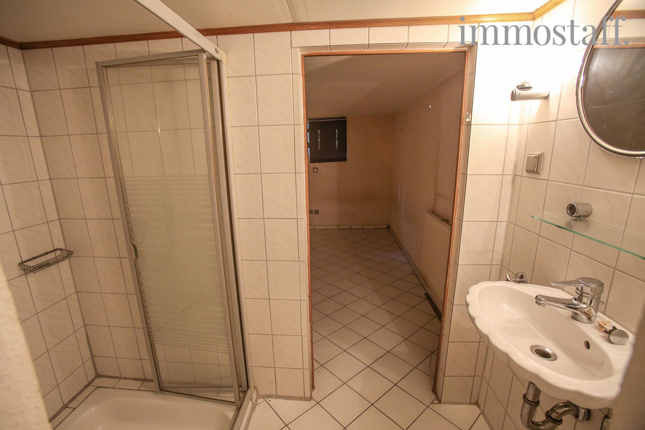 dusche im keller luften da die vorwand raumhoch ist haben - Dusche Im Keller Bauen