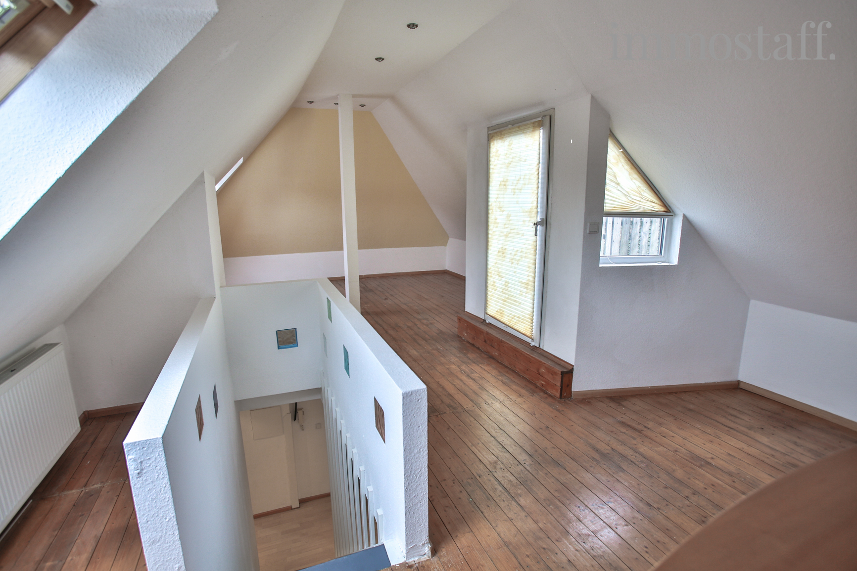 treppe spitzboden ferienhaus haus jenny h45a boltenhagen. Black Bedroom Furniture Sets. Home Design Ideas