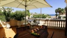 Doppelhaushälfte in 2. Strandlinie in Cala Mandia, Mallorca