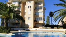 Wohnung im EG mit Terrasse, Poolblick und Südlage in Sa Coma, Mallorca