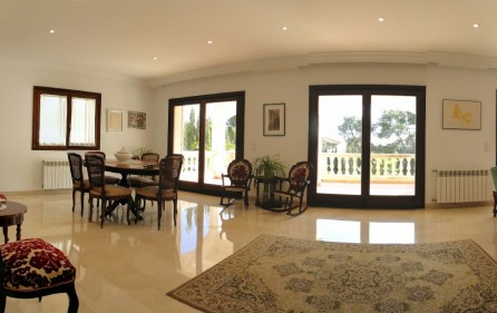Wohnzimmer, Ansicht 1