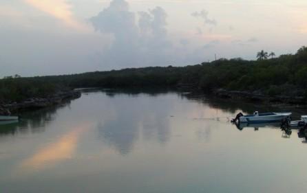 Bahamas Grundstück auf Andros, Creek 2