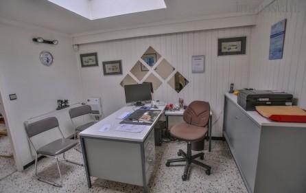 Bürobereich, mittleres Büro, Ansicht 1