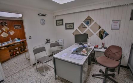 Bürobereich, mittleres Büro, Ansicht 2