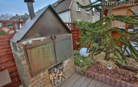 gemauerter Gartengrill