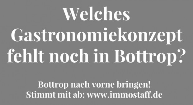 Welche Gastronomie fehlt in der Bottroper Innenstadt?