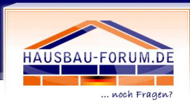 Wir sind ab sofort im Hausbau-Forum.de vertreten