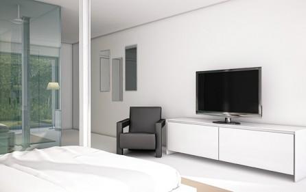Schlafzimmer 3, Ansicht 2