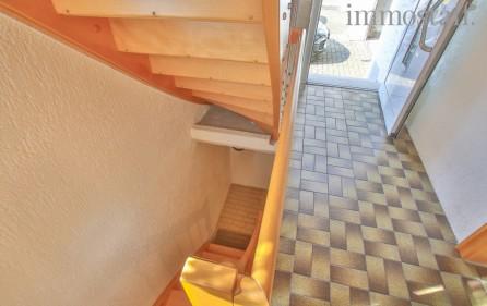 Treppe in den Kellerbereich
