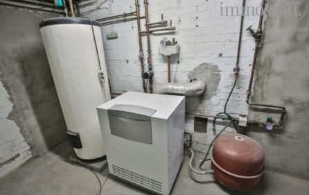 Gaszentralheizung im Keller