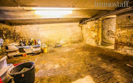 Kellerbereich in der Einliegerwohnung