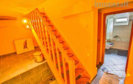 Treppe im Kellerbereich der Einliegerwohnung