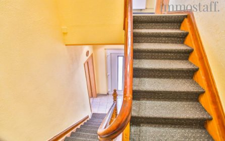 Treppenhaus in der Einliegerwohnung