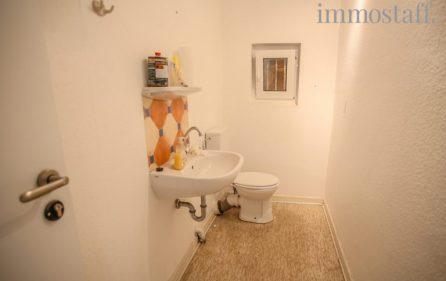 WC in Gewerbeeinheit