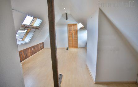 Schlafzimmer im Spitzboden, Ansicht 2