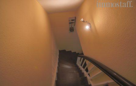 Treppe ins DG Einliegerwohnung
