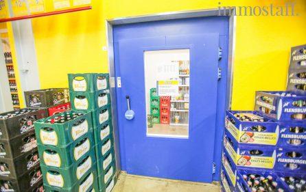 Zugang zur Kühlzelle