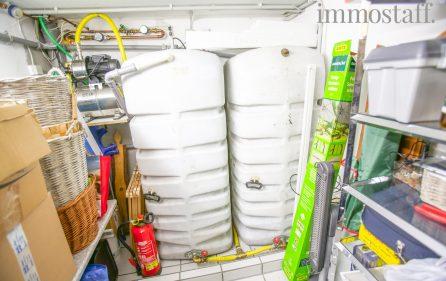 Regenwassernutzungsanlage im KG