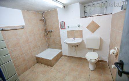 Bad mit Dusche und WC im UG