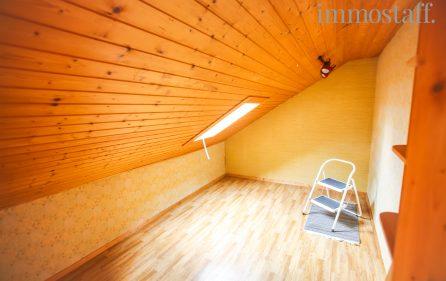 Ausbaureserve im Dachgeschoss