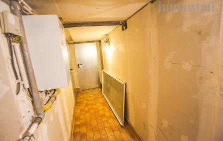 Flur im Kellergeschoss