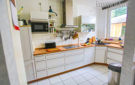 Küche im Erdgeschoss rechts