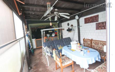 Anbau an Garage