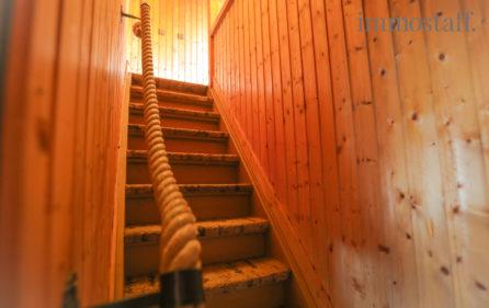 Treppe zum Sptzboden