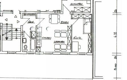 Grundriss ETW – 2. OG, rechts
