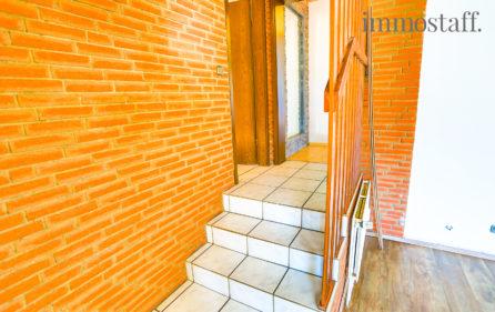 Treppenaufgang zum hinteren Wohnbereich
