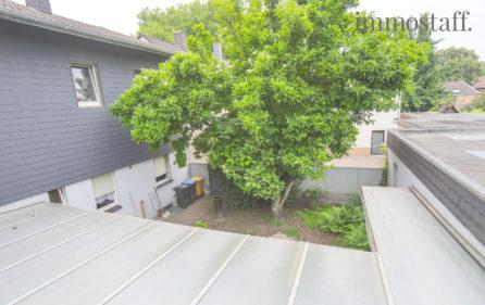 Aussicht aus dem 1. OG auf Innenhof