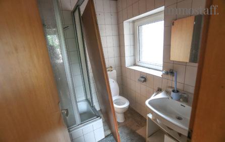 Dusche & WC, 1. OG an Hobbyraum