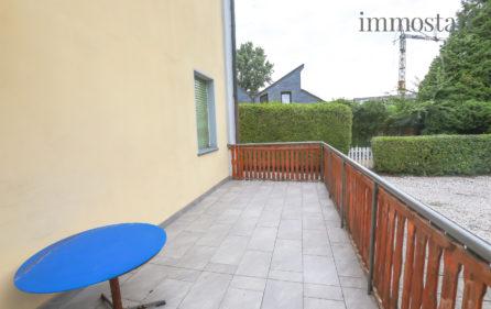 Terrasse Wohnung EG links