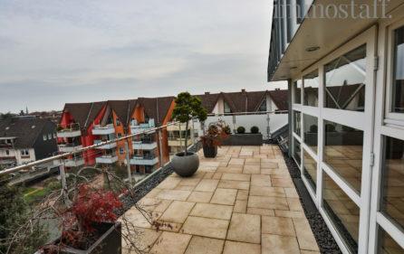 Dachterrasse, Ansicht 2