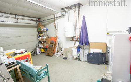 Garage, Innenansicht