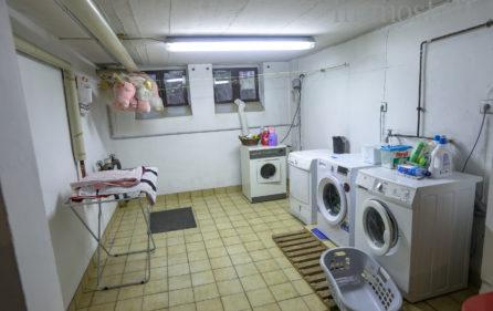 Wasch- und Trockenraum im UG