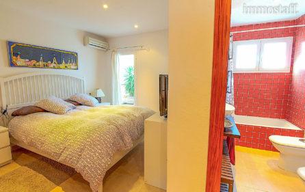 Schlafzimmer 3 mit Bad en Suite