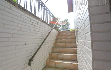 Treppe vom UG zum Garten