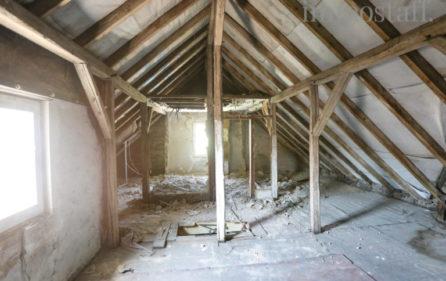 Ausbaureserve des Dachgeschoss der Wohnung im OG Ansicht 3
