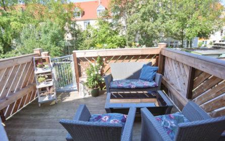 Balkon Wohnung Obergeschoss