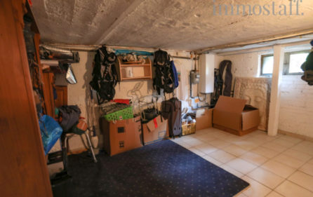 Kellerraum der Wohnung im EG