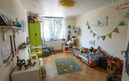 Kinderzimmer Wohnung im Obergeschoss