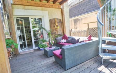Terrasse Wohnung im EG