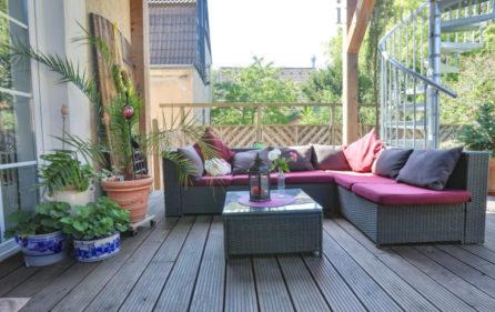 Terrasse Wohnung im EG Ansicht 4