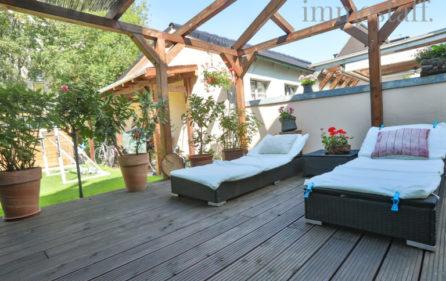Terrasse Wohnung im EG Ansicht 6
