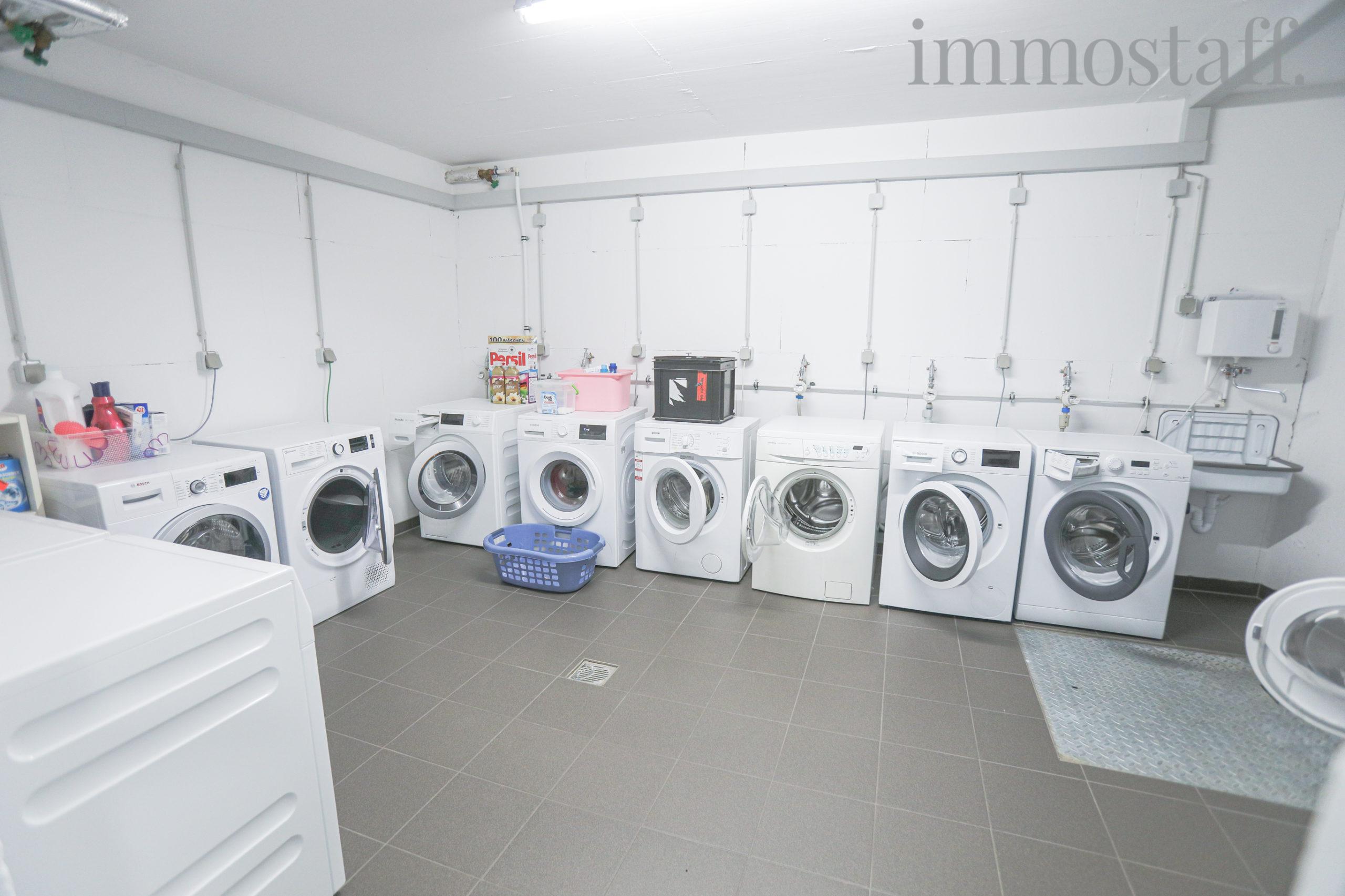 Wasch- und Trockenraum im Kellergeschoss