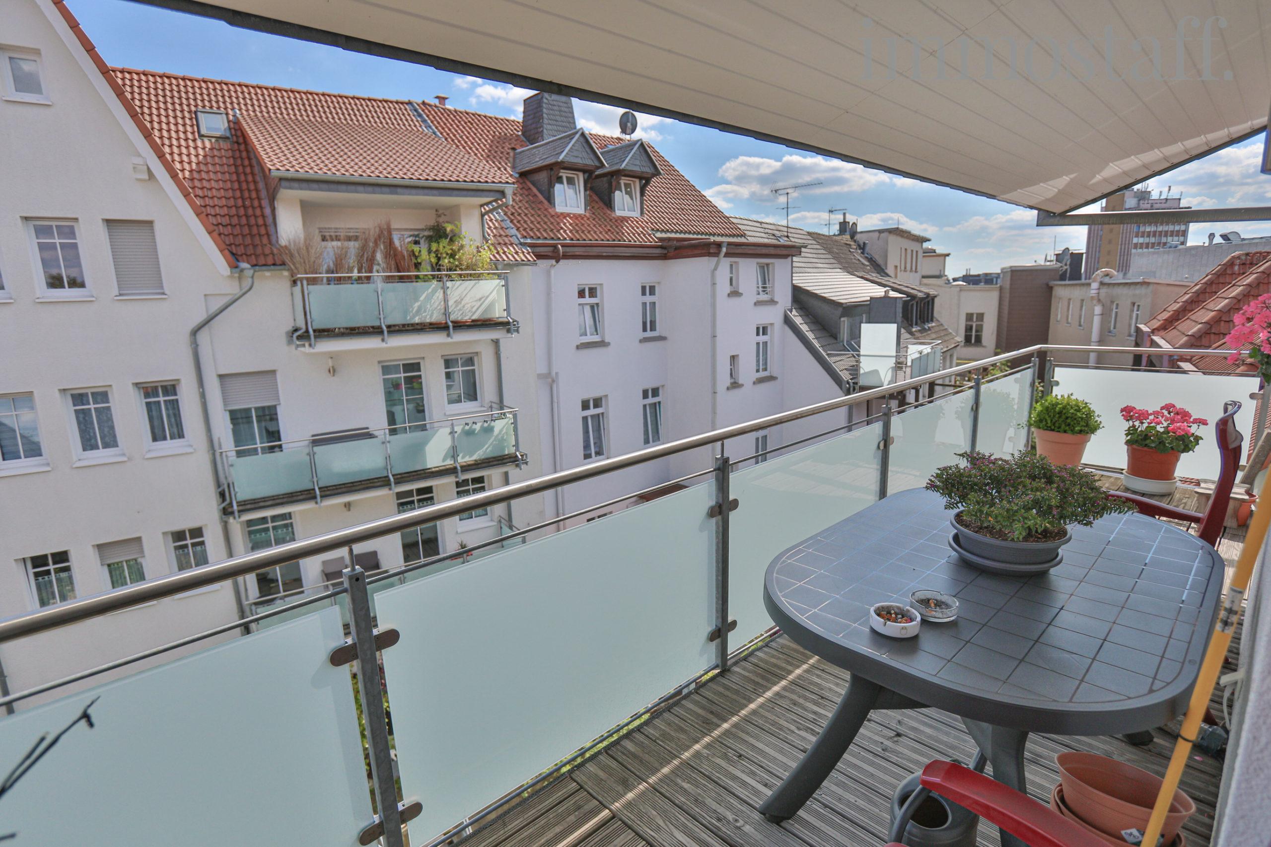 Wohnung 1, Balkon