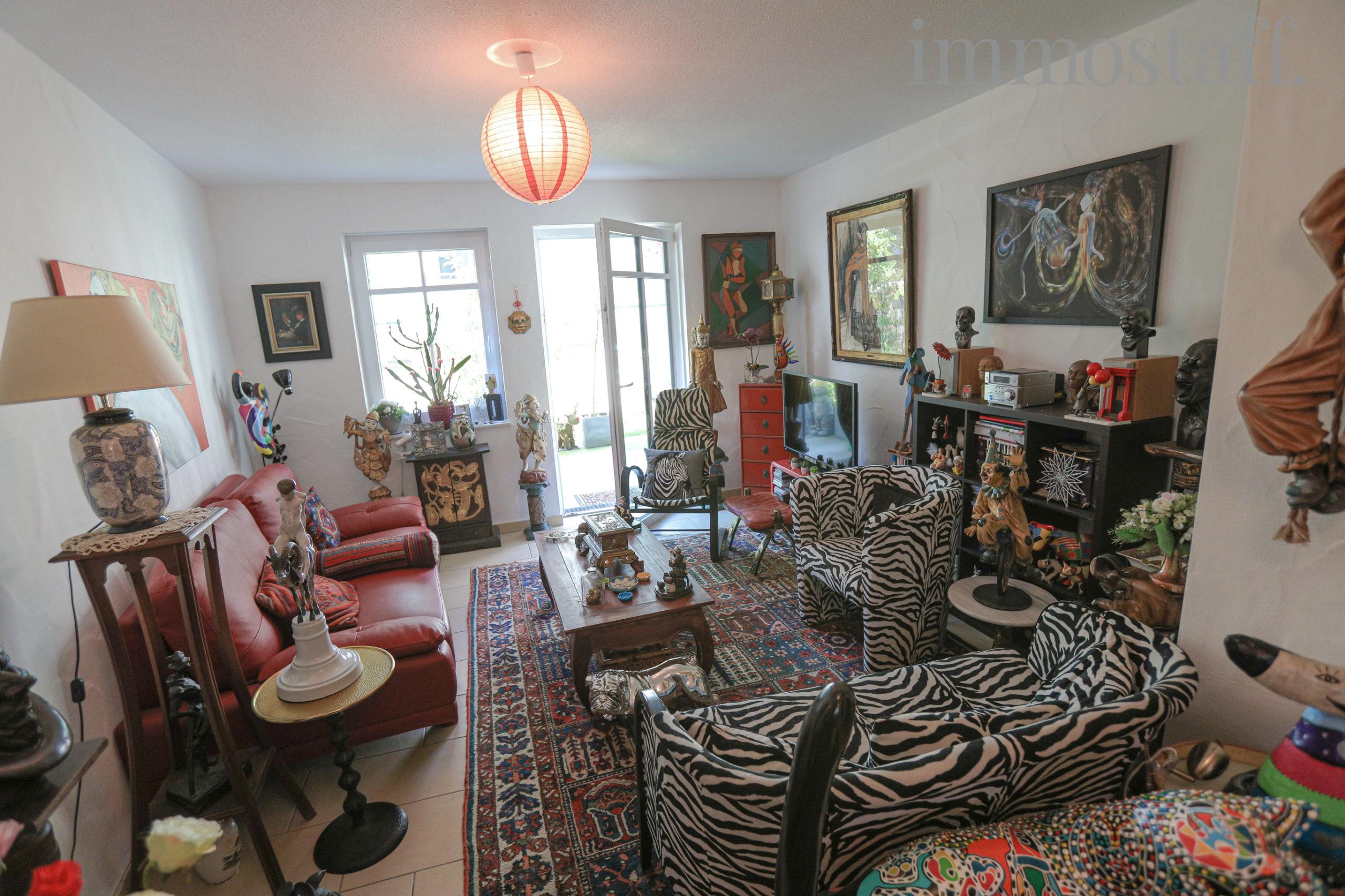 Wohnung 3, Wohnzimmer