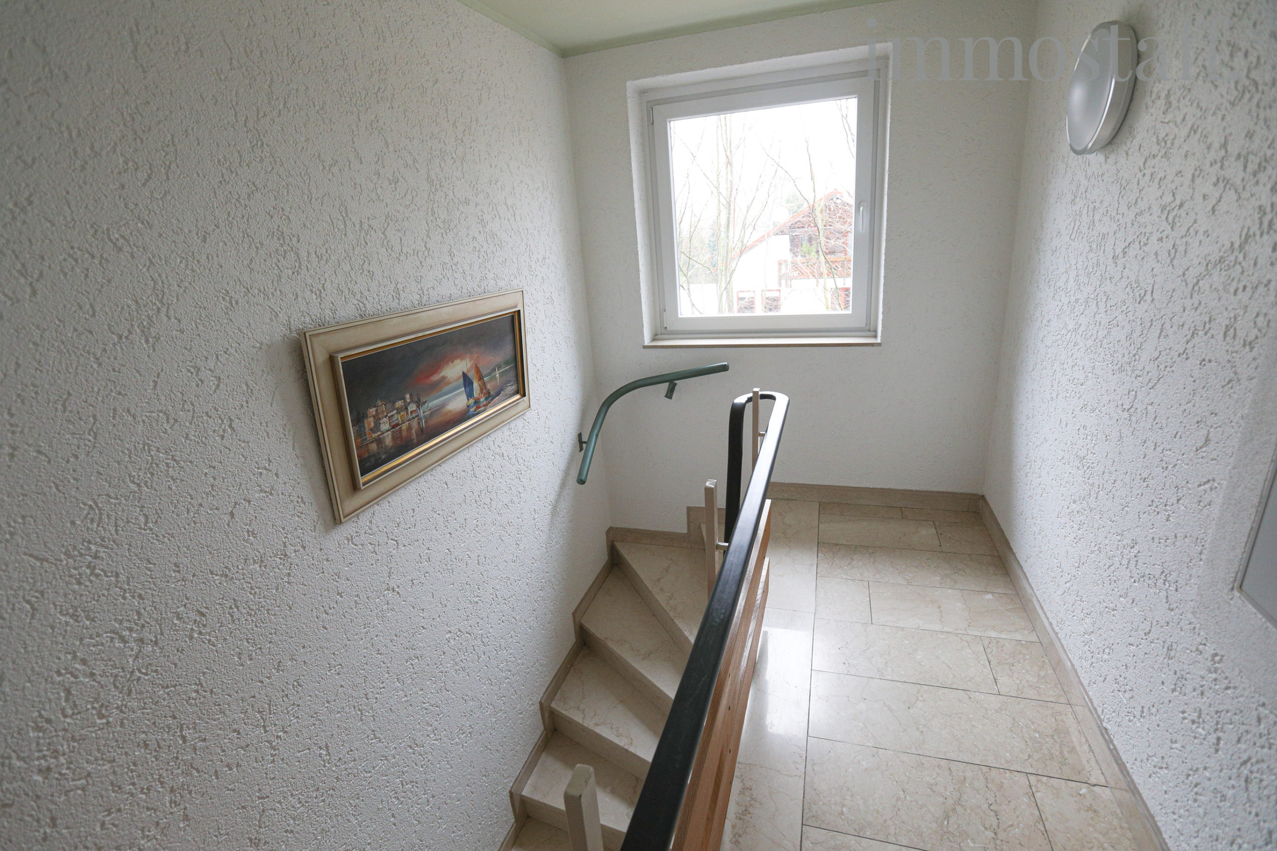 Treppenhaus im DG