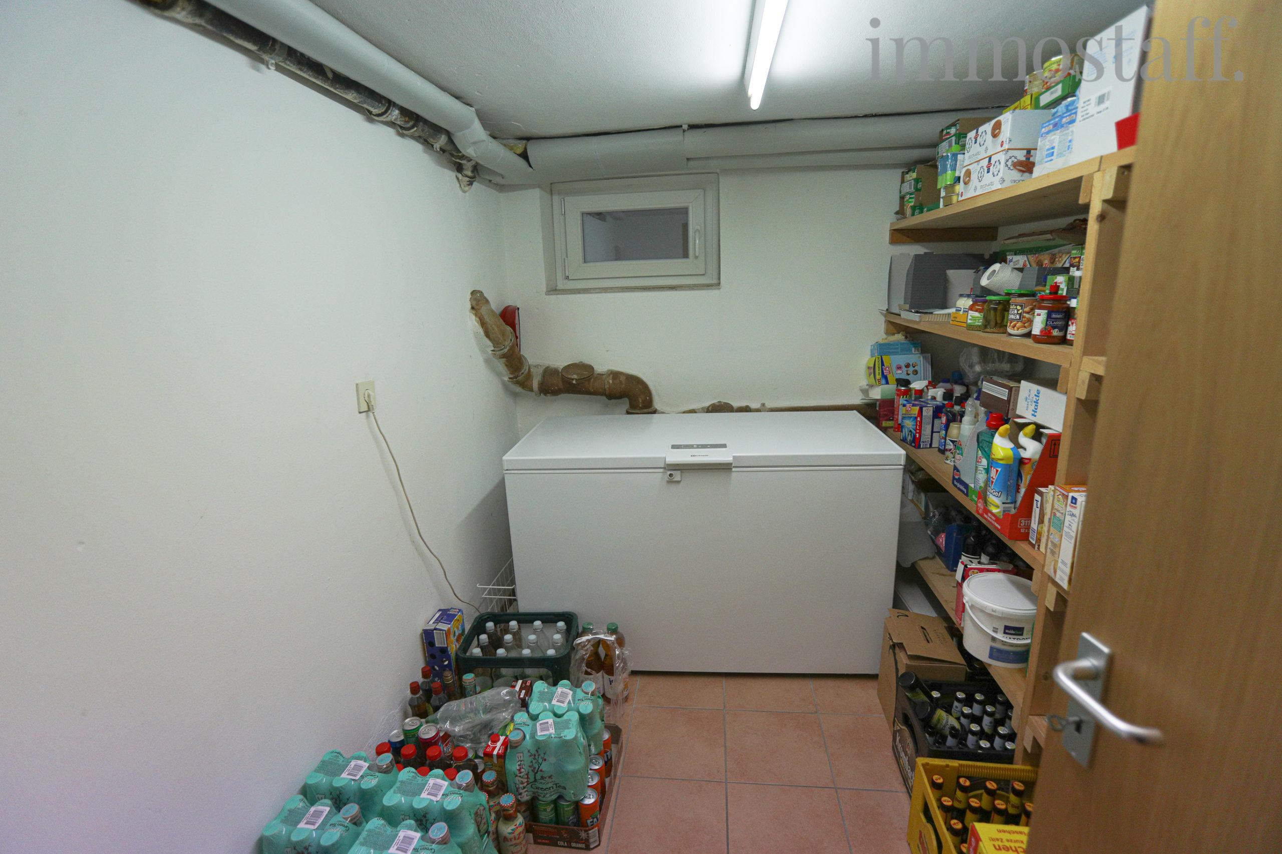 Vorratsraum im Kellergeschoss